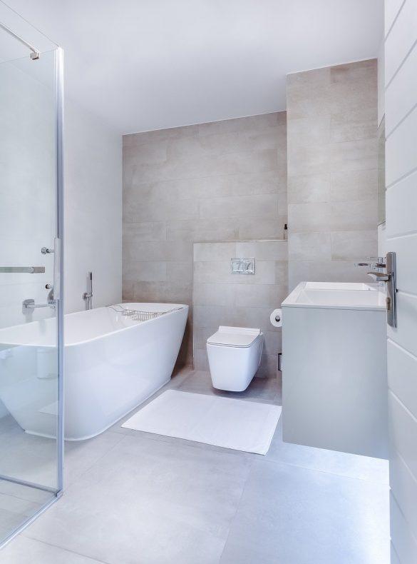 Décoration : WC minimaliste
